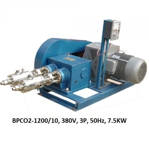 Bơm piston CO2 lỏng 300kg/h Model : BPCO2-100-300/10