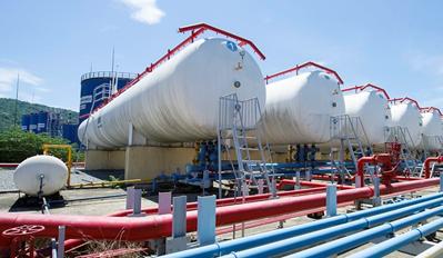 Dự án lắp đặt bồn gas công nghiệp công ty Mỹ Hào