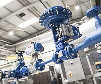 Dự án lắp đặt van công nghiệp khu công nghiệp