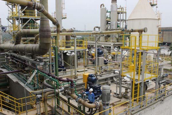 Dự án lắp đặt bồn trạm thiết nạp khí